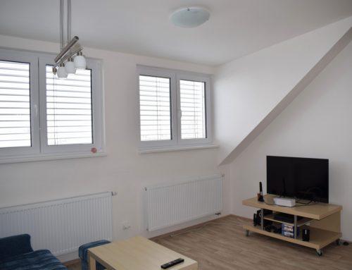 Rekonstrukce podkrovního bytu, Sluneční