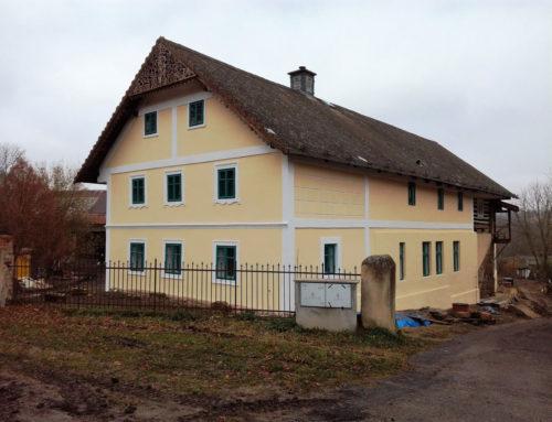 Rekonstrukce fasády, Sedlec